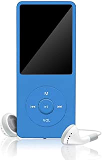Goolfly MP3/MP4 Player 64 GB Music Player 1.8'' Screen Portable MP3 Music Player with FM Radio Voice Recorde for Kids Adult