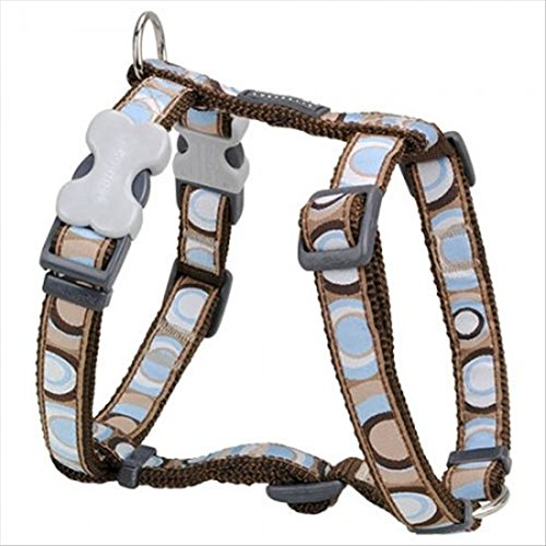 Red Dingo Circadelic Brown Dog Harness 45-69 cm 20 mm