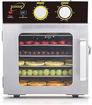 Déshydrateur de nourriture de ménage de dessiccateur de fruit de 6 couches déshydrateur déshydrateur séché en acier inoxyd...