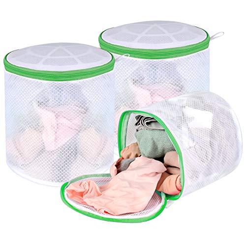 BH-Beutel für Waschmaschine, 3er-Pack Dessous-Beutel, Socken-Wäschesack, Unterwäsche, Waschbeutel, BH-Waschschutz, Netz-Wäschesack