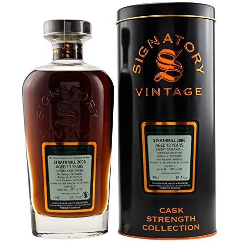 Strathmill 2006-13yo - Sherry Cask - Signatory Vintage Cask Strength Malt Whisky (1 x 0,7l)