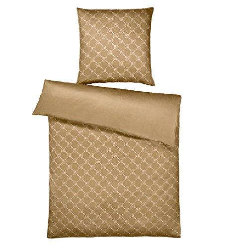 Joop! Wendebettwäsche Cornflower Gradient Gold 1 Bettbezug 135x200 cm + 1 Kissenbezug 80x80 cm