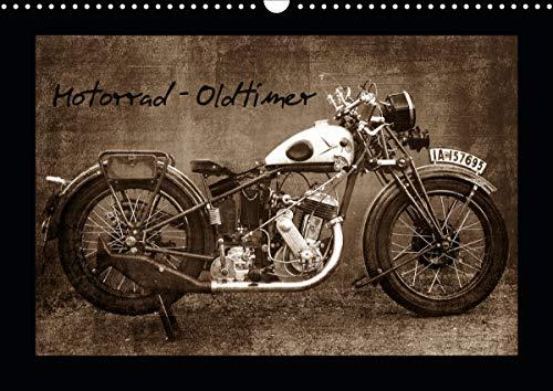 Motorrad Oldtimer (Wandkalender 2021 DIN A3 quer)