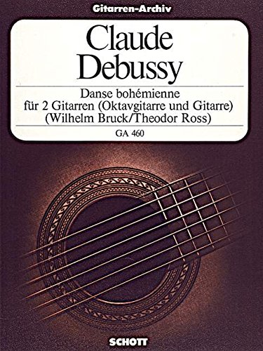 Danse bohémienne: 2 Gitarren oder Oktav-Gitarre und Gitarre. (Gitarren-Archiv)