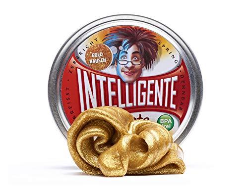 Plastilina Inteligente Intelligente Knete–Material Fun, Farbe Gold (PL109)