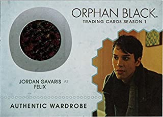 Orphan Black Season 1 M11 Costume Wardrobe Card Jordan Gavaris as Felix