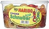 Haribo Kinderschnuller, Dose, 150 Stück, 1200g