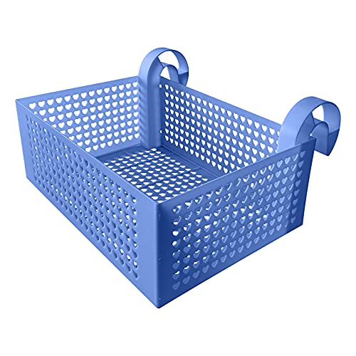 JIESEN Cesta de almacenamiento para piscinas enmarcadas, 28 x 40 x 36 cm, gran capacidad de carga, bastidor desmontable, accesorio para piscina superior