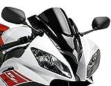 Racingscheibe Puig Yamaha R6 2008-2015 tief schwarz Verkleidungsscheibe