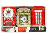English Tea Mini Caddy Gift Set, London Experience - 3 x 25g Tea Caddies Gift Pack