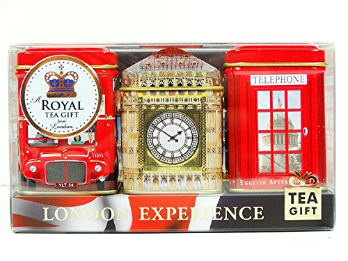Tes ingleses - Mini Caddy Gift Set - \London Experience\