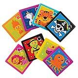 Baker Ross Rompecabezas Deslizantes Surtidos Paquete de Ahorro AT905 (paquete de 8) para bolsos de fiesta y pequeños juguetes para niños