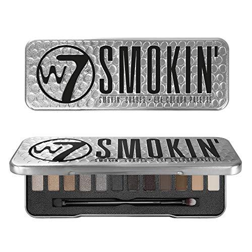 W7Smoking Shades - palette di ombretti da 12 pezzi, da 15,6g