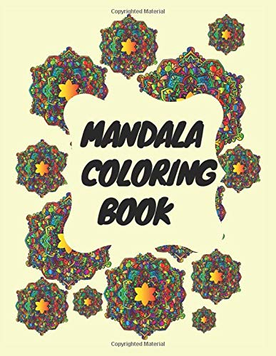 Mandala Coloring Book: Coloring Book with big Mandalas for Relexation