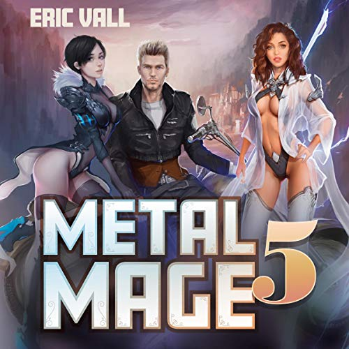 Metal Mage 5 audiobook cover art