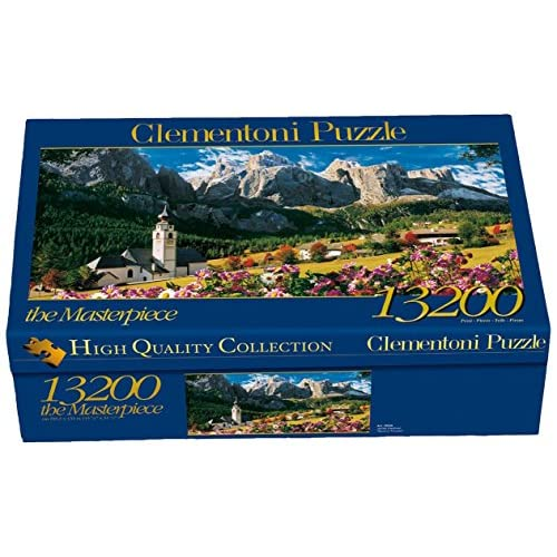 Clementoni- Sellagruppe-Dolomiti High Quality Collection Puzzle, 13200 pezzi, 38007