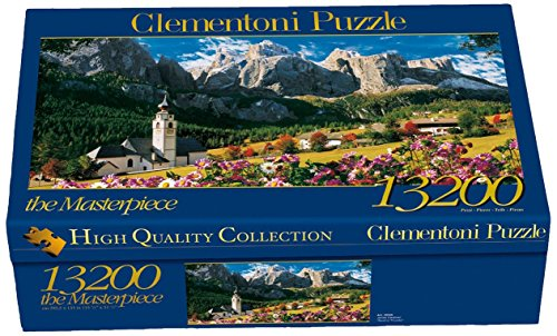 Clementoni- Sellagruppe-Dolomiten Los Pingüinos De Madagascar Puzzle 13200p Collection Los Dolomitas, 15+ (38007.7)