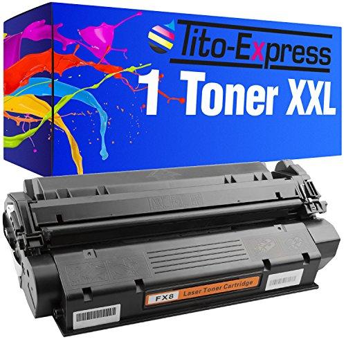 Tito-Express PlatinumSerie 1x Toner-Patrone XXL Schwarz für Canon FX-8 ImageClass PC-D320 PC-D340 PC-D383 PC-D420
