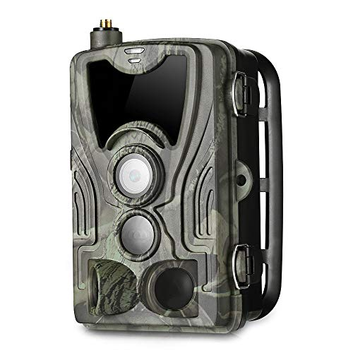 QWERTOUY HC-801M 2G 1080P Nachtzicht Jacht Camera Infrarood Surveillance Photo Traps Trail Camera Ondersteuning GPRS GSM MMS SMTP SMS