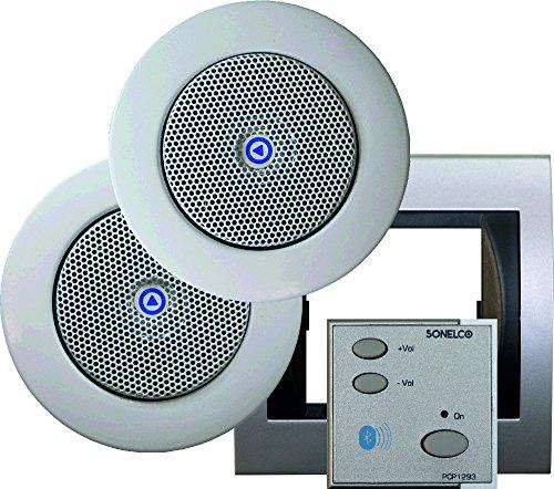 Sonelco PK2293-12 - Sistema de Sonido con Mando Amplificador con Dos...