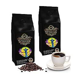 Kaffee Café Crema, mild & aromatisch, ganze Bohne, extra schonend