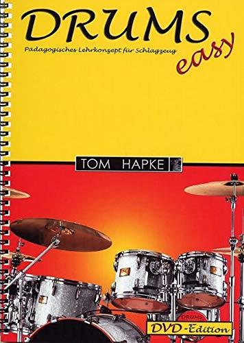 DRUMS easy. Pädagogisches Lehrkonzept für Schlagzeug. DVD-Edition: Buch + DVD