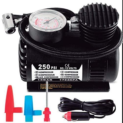 KRAWEHL Mini compresseur d'air pour Voiture 12 V 80 W