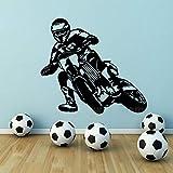 SLQUIET Moto Motor Race Motocross Vélo Sports Garçons Vinyle Sticker Autocollant...