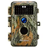 Game Camera & Deer Hunting Trail Cam with Night Vision 20MP Photo 1080P HD H.264 MP4 Video No Flash 940nm Infrared Waterproof Motion Activated for Wildlife Tracking & Home Security Photo & Video Model