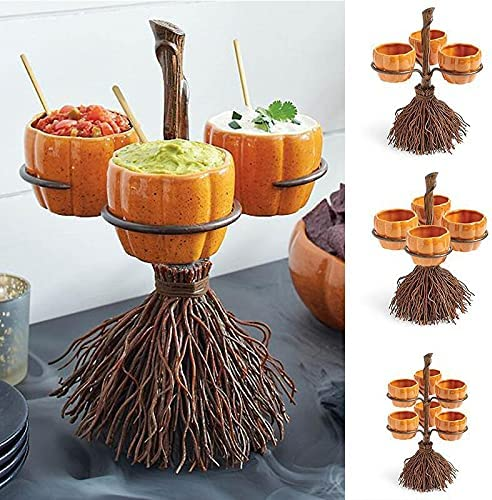 Ssltdm Halloween Lowest price challenge Pumpkin Snack Bowl with Removable Stand Basket Popular popular
