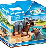 Playmobil 70354 Caballo de río con bebé, a Partir de 4 años