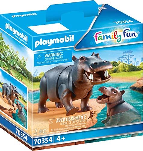 Hipopótamo con Beb
