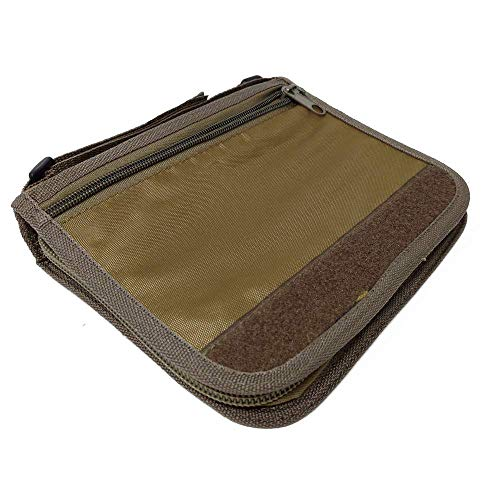 Made from durable, weather-resistant fabric to keep your field notes dry. Handy strap allows you to attach notebook to your outdoor gear. Interior sewn-in slots and pockets for keeping your pens and pencils from getting lost. Tough zipper keeps every...