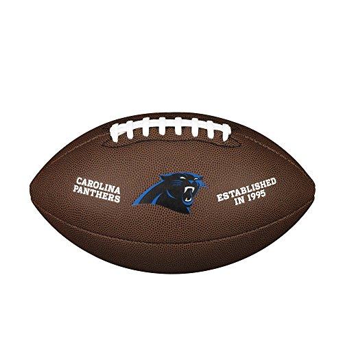 WILSON NFL Team Logo Composite Fußball, weiß, Official