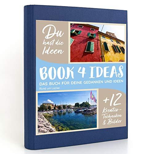 BOOK 4 IDEAS modern   Rund um Lazise, Eintragbuch mit Bildern: Fotokalender von Lazise und Umgebung am Gardasee.