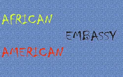 African American Embassy (English Edition)