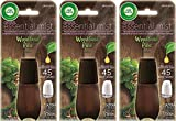 Air Wick Essential Mist Refill - Limited Edition Holiday Collection - Woodland Pine - Net Wt. 0.67 FL OZ (20 mL) Per Refill - Pack of 3 Refills