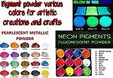 50 gr Pigmentos en polvo perleado para resina epoxi, poliuretano,...
