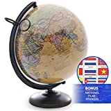 Best World Globes - 12 Inch World Globe with Metal Stand Review
