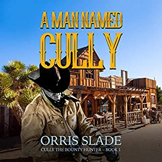 A Man Named Cully audiobook cover art