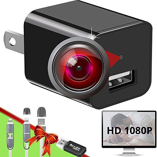 Spy Camera Charger - Hidden Camera - Premium Pack - HD 1080P - Best Spy Camera - USB Charger Camera...