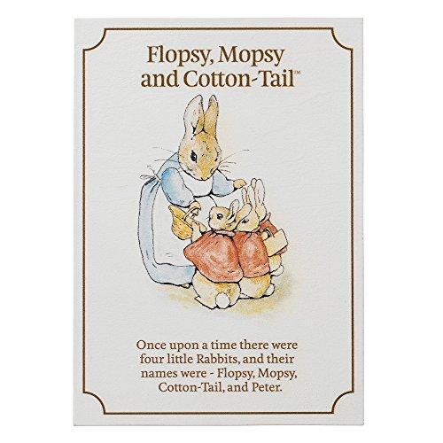 Beatrix Potter A27230 Flopsy, Beatrix Potter et Cotton-tail carte postale