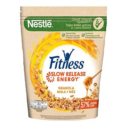 Nestlé Fitness Granola Miele Cereali Croccanti con Avena Integrale, 300g