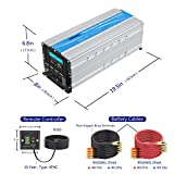 Photo #4: 5000 Watt Super Heavy Duty Power Inverter for Truck with Remote Control and LCD Display and 4 AC Sockets Dual USB Ports