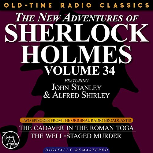 The New Adventures of Sherlock Holmes, Volume 34 cover art