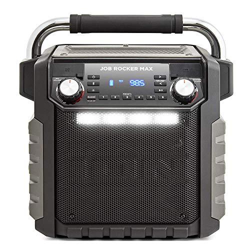Ion Audio Job Rocker Max Bluetooth Speaker, Black (Renewed)
