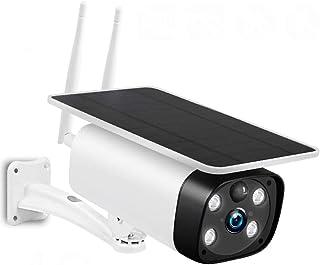 كاميرا للمراقبة الامنية الخارجية بتقنية ستار لايت وبدقة 1080P لاسلكية تدعم الاتصال بالانترنت بشبكة من الجيل الرابع تعمل با...
