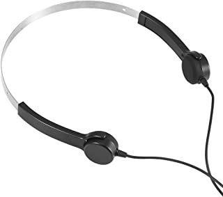 ASHATA Bone Conduction Hearing Aid, Bone Conduction Headsets Hearing Aids Headphones Audiphone AUX in with Long Battery Lifefor Hearing Difficulties