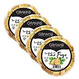 Gramas Natural Sun-Dried Figs in Garland Form, Vegan, Gluten-Free Calimyrna Figs, Non-GMO, No Added...