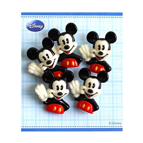 パイオニア ボタン ディズニー ミッキーマウス DI200-DI84 ブラック